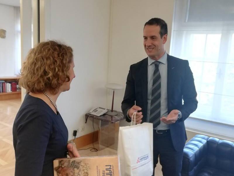 Ministrica kulture Nina Obuljen Koržinek primila Napretkovo izaslanstvo