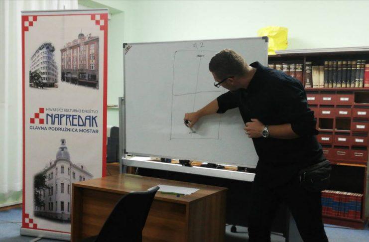 U organizaciji HKD Napredak, u Mostaru započeo ll. stupanj Tečaja crtanja i dizajna