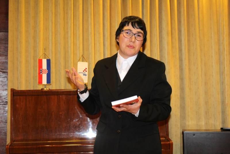 U Napretkovom kulturnom centru Anđela Vujnović predstavila svoju novu knjigu